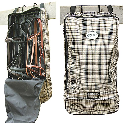 Exselle Lined Bridle Halter Carry Bag, Plaid by Exselle