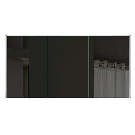 Badezimmer Spiegelschrank mit LED Beleuchtung lichtleitenden ...