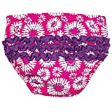 Floral Baby Girl Swim Diaper by Sun