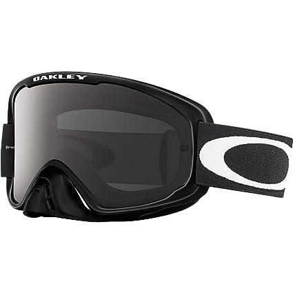 08a5f206d0 Amazon.com: Oakley O2 MX Men's Dirt Off-Road Motorcycle Goggles Eyewear -  Jet Black Sand/Dark Grey/Clear / One Size Fits All: Automotive