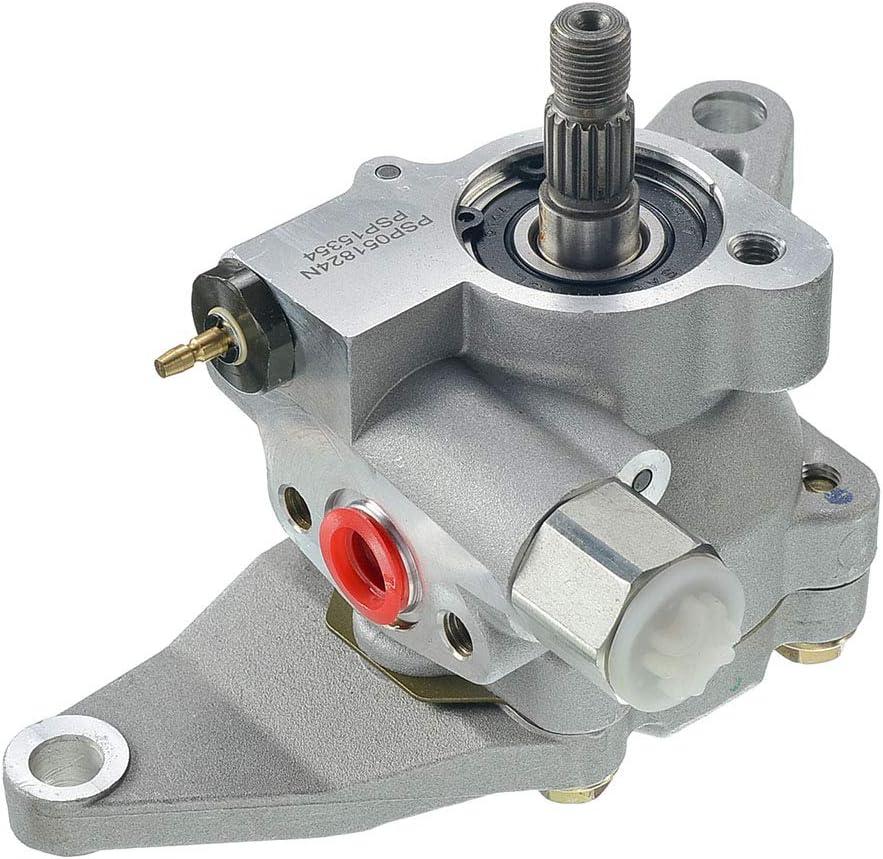 Power Steering Pump for Kia Sedona 2002-2005 Hyundai Santa Fe 2003-2006 V6 3.5L