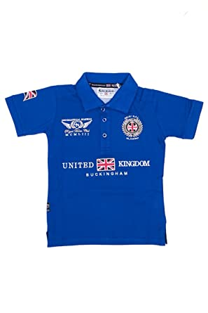 Geographical Norway - Polo Niños Geographical Norway Kansas azul ...