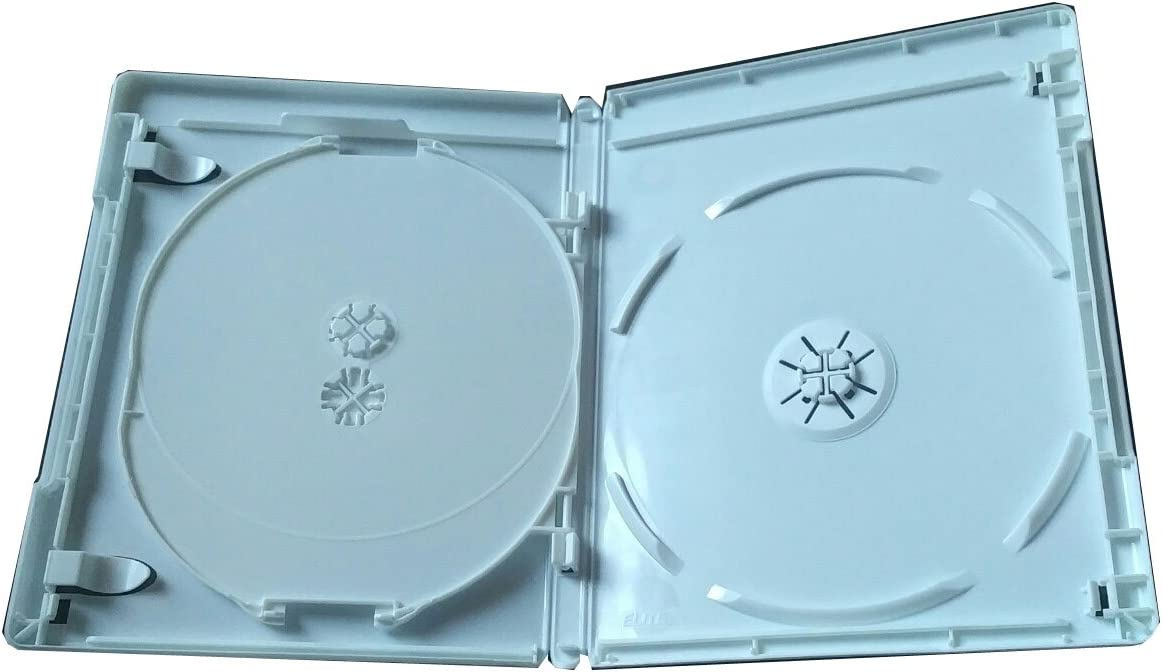 NEW 2 Pk VIVA ELITE Hold 3 Discs Triple Blu-Ray replacement case Holder 3 Tray