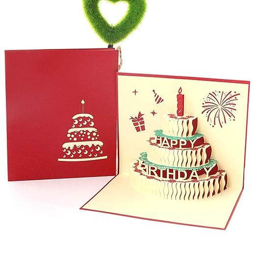 gfdytedtydi - Tarjeta de felicitación para cumpleaños (12,8 ...