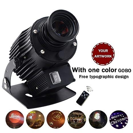 AMAZOIN 40W LED de Imagen Personalizada Phantom Rotating GOBO ...