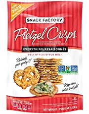 Snack Factory Pretzel Crisps - Everything 200 Grams