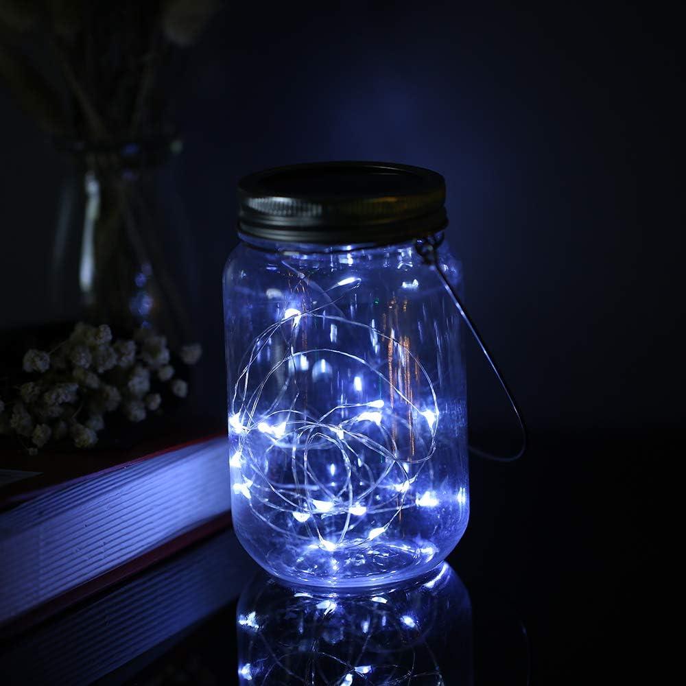 Cuivre Fil Cuisine No/ël LED Lumi/ères /étincelantes pour DIY 1//2m 10//20 LED LED Bouchon Lumineux pour Bouteille D/écor de Partie Mariage Halloween Galapara Guirlande Lumineuse Solaire
