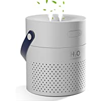 SmartDevil Portable Desk Humidifier,1.1L Cool Mist Humidifier with 4000mAh Battery Operated, Small Humidifiers for Home…