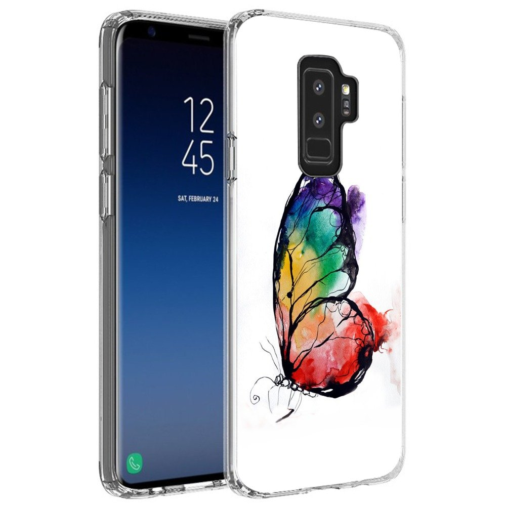 Hot Air Balloon Samsung Galaxy S9 Plus Case Customized Design Pattern Soft Cover Anti-Scratch Flexible Durable Shockproof TPU Protective Phone Case for Samsung Galaxy S9 Plus-Clear youxieshang
