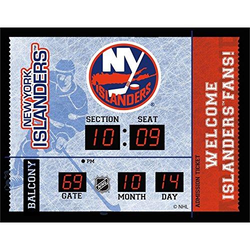 Evergreen NHL New York Islanders 14X19 Scoreboard, Team Colors, One Size ()