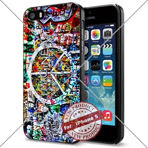 New Apple iPhone 5/5S Case The Beatles Lyric Art Smartphone Case Covers Collector iphone TPU Rubber Case Black