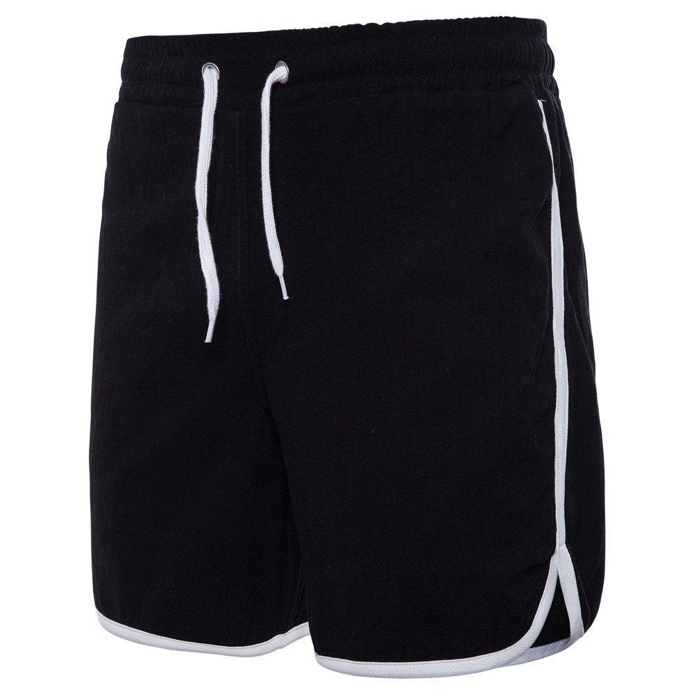 Atmungsaktiv Herren Sport Shorts Fitness Jogger Laufhose Training Jogging Hosen Bermuda Cargo Short Capri Hose Kurze 1//2 Sommer Stretch Freizeit Trousers Pants Laufen Fitness