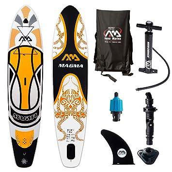 Aqua Marina Magma Sup Inflatable Stand Up Paddle Surf Board Remo Board