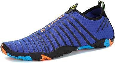 EUZeo_Zapatos Zapatos de Agua Unisex Hombre Mujer,EUZeo,2019 Zapatillas para Playa Buceo Snorkel Surf Vela Mar Río Aqua Cycling Piscina Acuáticos Escarpines Calzado de Natación Deportes 35-45: Amazon.es: Ropa y accesorios