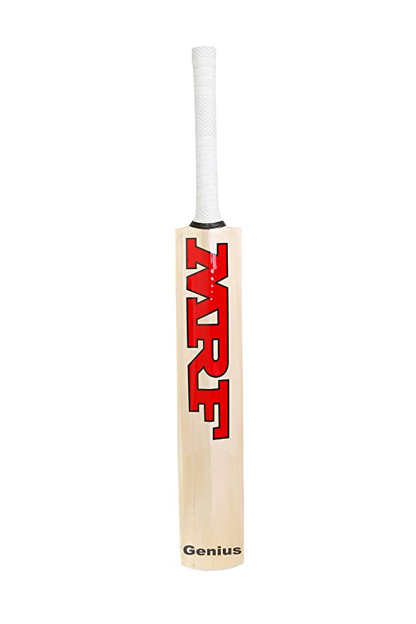 f938e2502 MRF Genius Grand Edition Virat Kohli Endorsed English-Willow Cricket Bat   Amazon.in  Sports