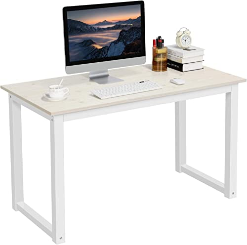 YAHEETECH Modern Computer Desk Writing Study Table Dining Table