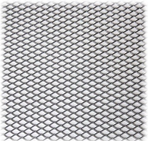 Aluminum Plated Mesh D Material Body Kits Diamond Opening Grill 12
