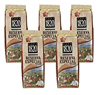 Cafe 1820 Reserva Especial - Costa Rica Gourmet Ground Premium Coffee - 12 oz (340 gr) 5 Pack