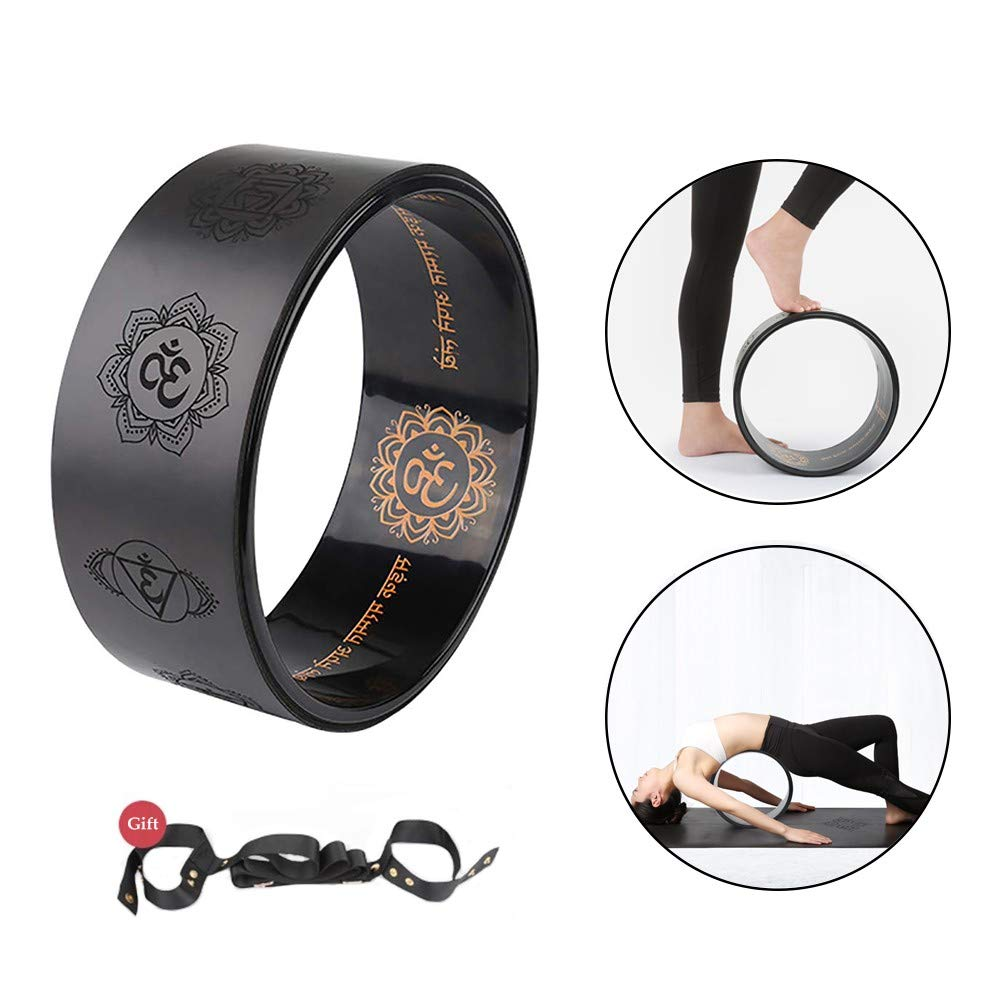 Amazon.com: Yoga Wheel Prop for Stretching Release Deep ...