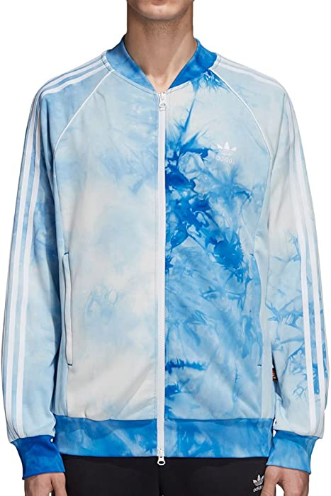 86f7f39a9120d adidas Originals Pharrell Williams Hu Holi Superstar Men s Track Jacket  Blue cw9103 (Size ...