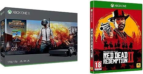 Microsoft Xbox One X - Consola 1 TB + Playerunknowns ...
