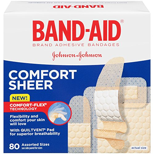 Band Aid Brand Adhesive Bandages Assorted