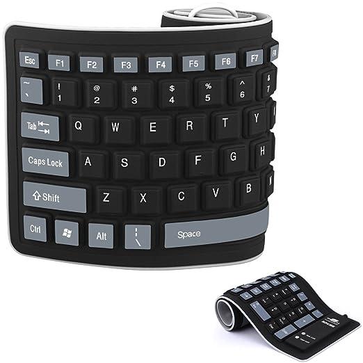 8 opinioni per Tastiera in Silicone Tastiera Ripiegabile in Silicone Tastiera Flessibile