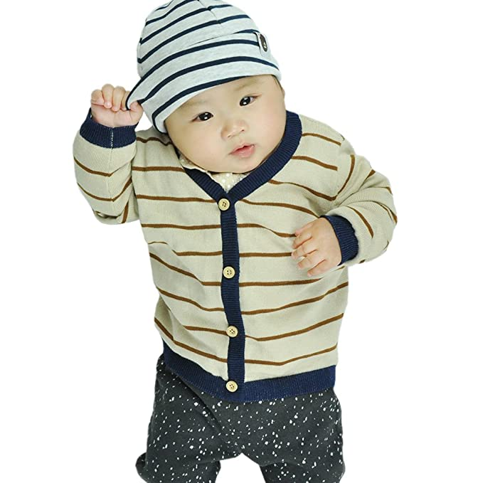 Iceybaby Prematuro recién nacido de sección delgada Sweater Baby ...