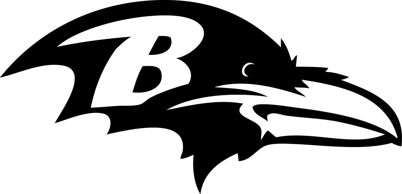 TDT Printing & Custom Decals Baltimore Ravens Vinyl Sticker for Car or Truck Windows, Laptops etc.
