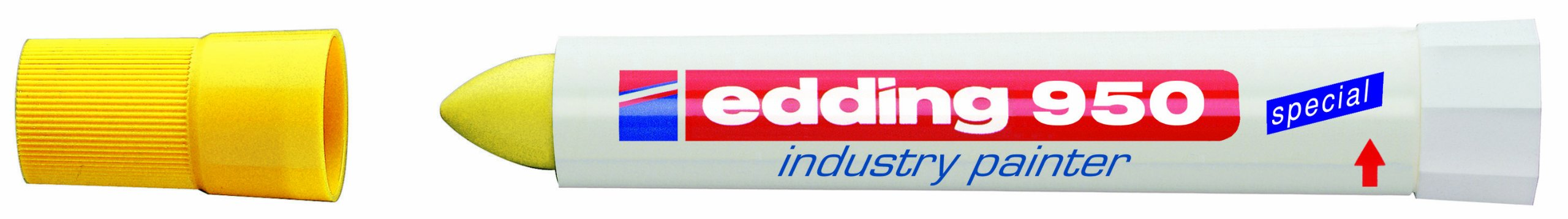 EDDING INDUSTRY PAINTER YELLOW 950-005 by Edding (Image #1)