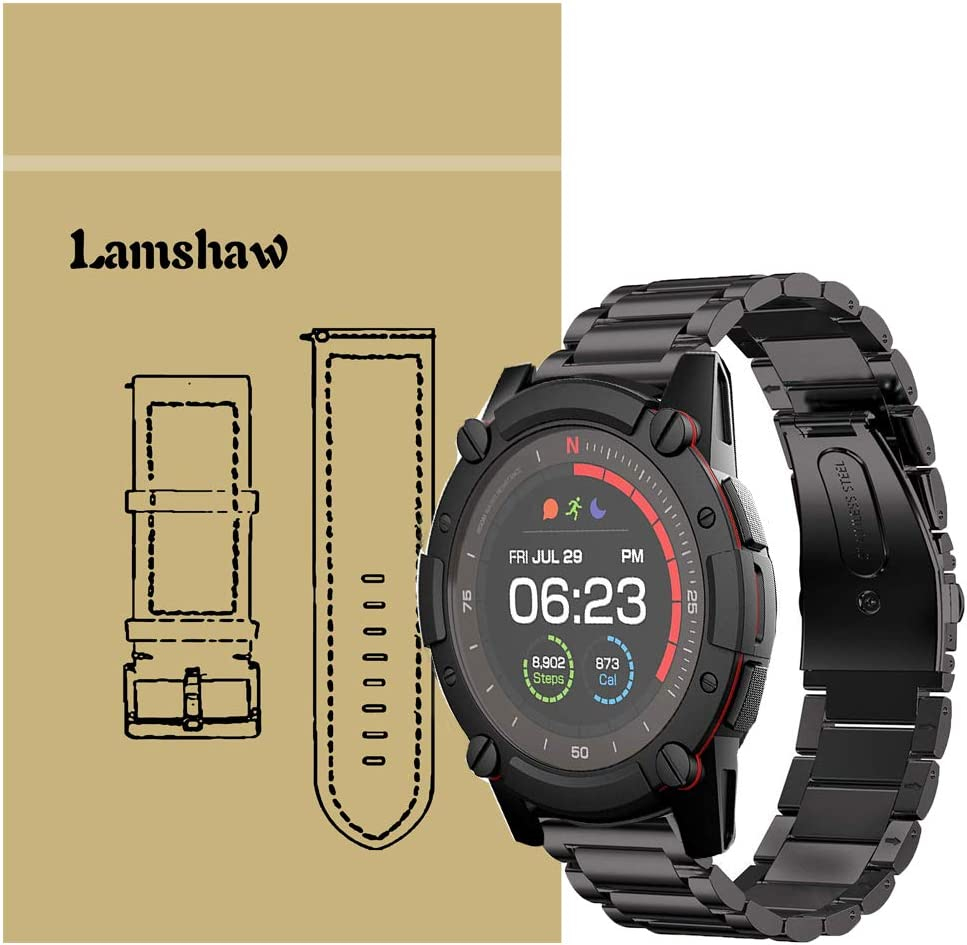 Amazon.com: for PowerWatch 2 Band, Blueshaw Stainless Steel ...