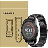 Compatible for PowerWatch 2 Band, Blueshaw Stainless Steel Metal Replacement Straps Compatible for Matrix PowerWatch 2…
