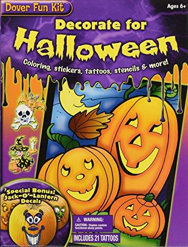 Decorate for Halloween Fun Kit (Dover Fun