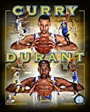 kevin durant pics - Golden State Warriors Stephen Curry & Kevin Durant Team Mate Collage. 8x10 Photo Picture (coll)