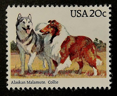 Collie Stamps - 5