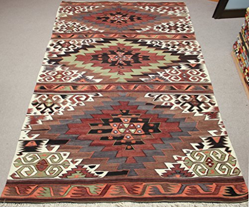 Decorative Vintage Kilim rug 10,9x5,2 feet Area rug Old Rug Bohemian Kilim Rug Floor rug Sofa Decor Rustic Kilim Rug Antique rug