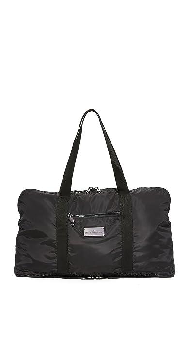 adidas by Stella McCartney Womens Yoga Bag, Black/Gunmetal ...