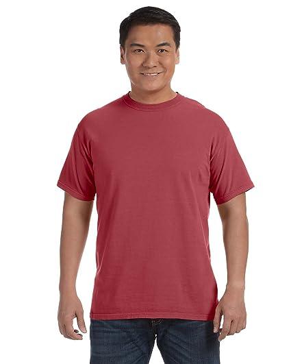 4448536c C1717 Comfort Colors 6.1 oz. Ringspun Garment-Dyed T-Shirt | Amazon.com