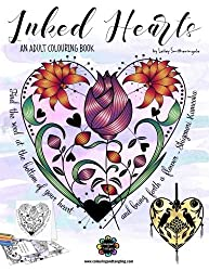 Inked Hearts: Colouring Book for Adults