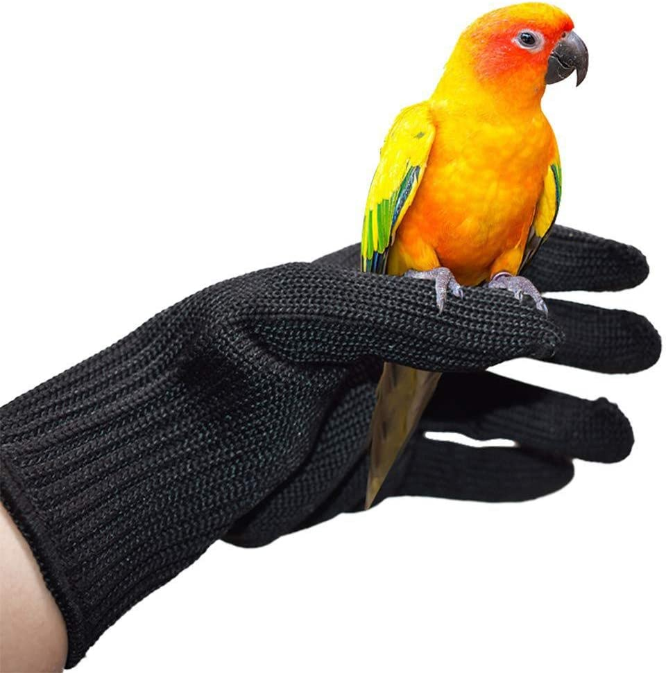 navigatee Guantes Anti-mordedura para Entrenamiento De Aves, Guantes Antiarañazos para Perros, Gatos, Serpientes, Loros, Lagartos, Guantes De Protección De Animales Salvajes