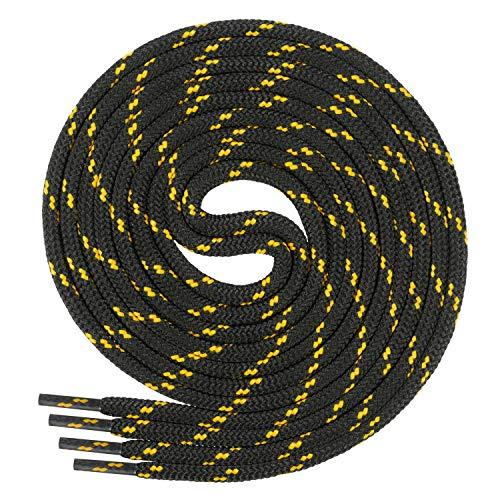 Farben Und 100 70 Schwarz gelb Mm 4 Ø Qualitäts Für Trekkingschuhe 220 Ca Aus Cm Ficchiano 5 Di Polyester Rundsenkel 27 Arbeitsschuhe schnürsenkel Längen BHnTwYz
