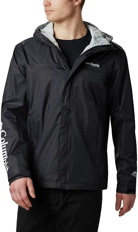 Columbia Mens Pouration/™ Waterproof Jacket raincoats