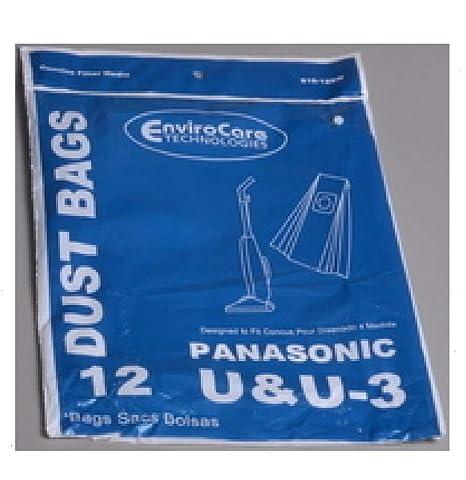 Amazon.com: Panasonic tipo U/U3 bolsas de aspiradora ...