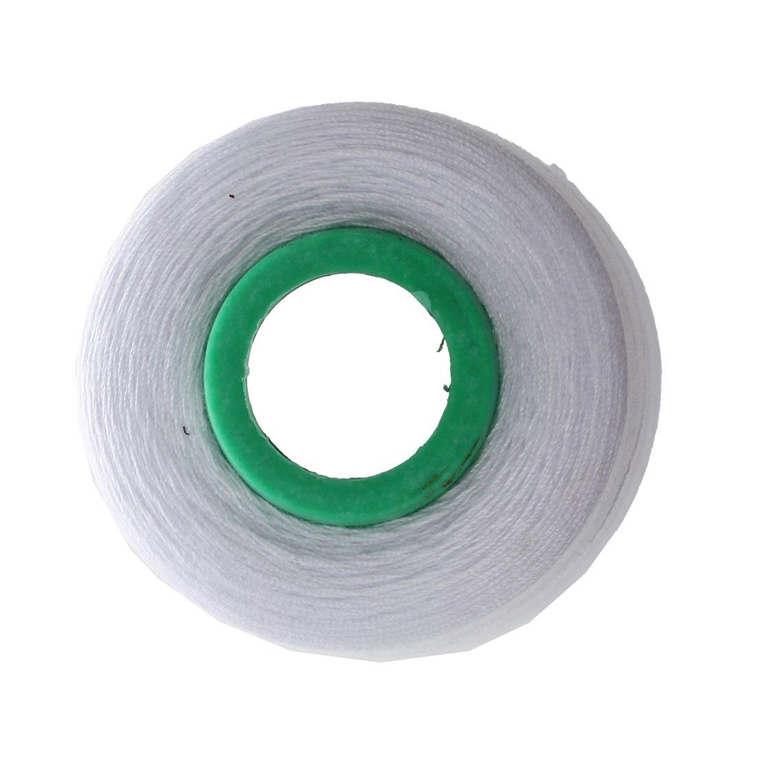 Blanco Cikuso Durable 3000 Yardas Overlocking M/áQuina De Coser Industrial Poli/éSter Hilo Medidor Conos Color Poli/éSter Hilo De Coser