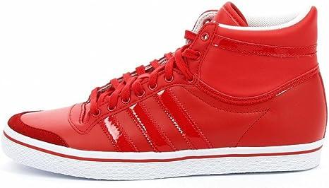 adidas Originals Top Ten Vulc, Rojo: Amazon.es: Deportes y aire libre