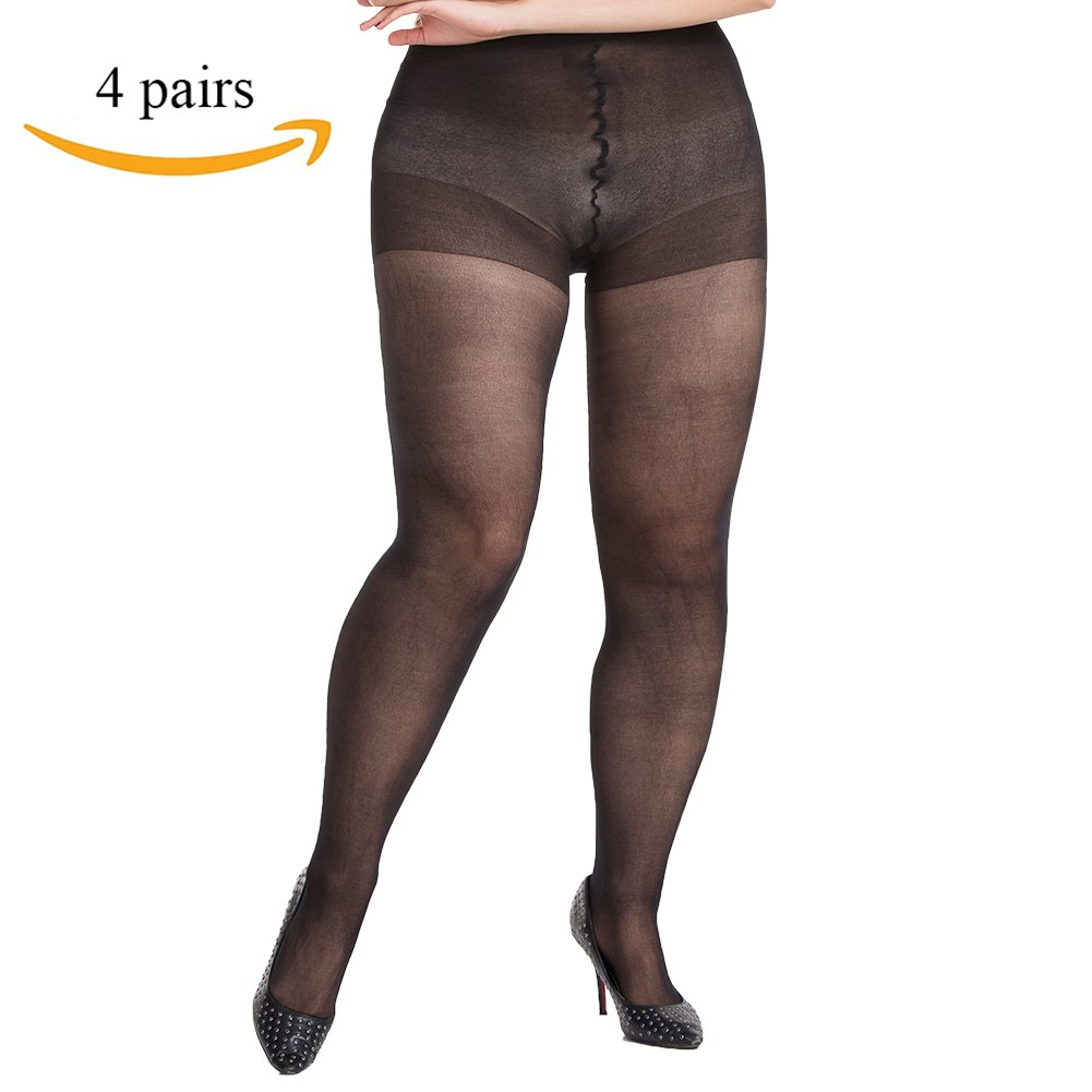1e3e1b06e6c PLUS SIZE LEGGING TIGHTS  Why fuss with pantyhose and tights that don t  quite fit right  Our plus size control top pantyhose are available ...