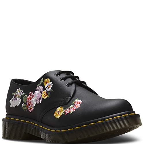 Dr. Martens Womens 1461 II Vonda Leather Floral Closed Toe Flat Punk Shoes