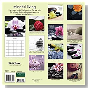 Mindful Living 2018 Wall Calendar