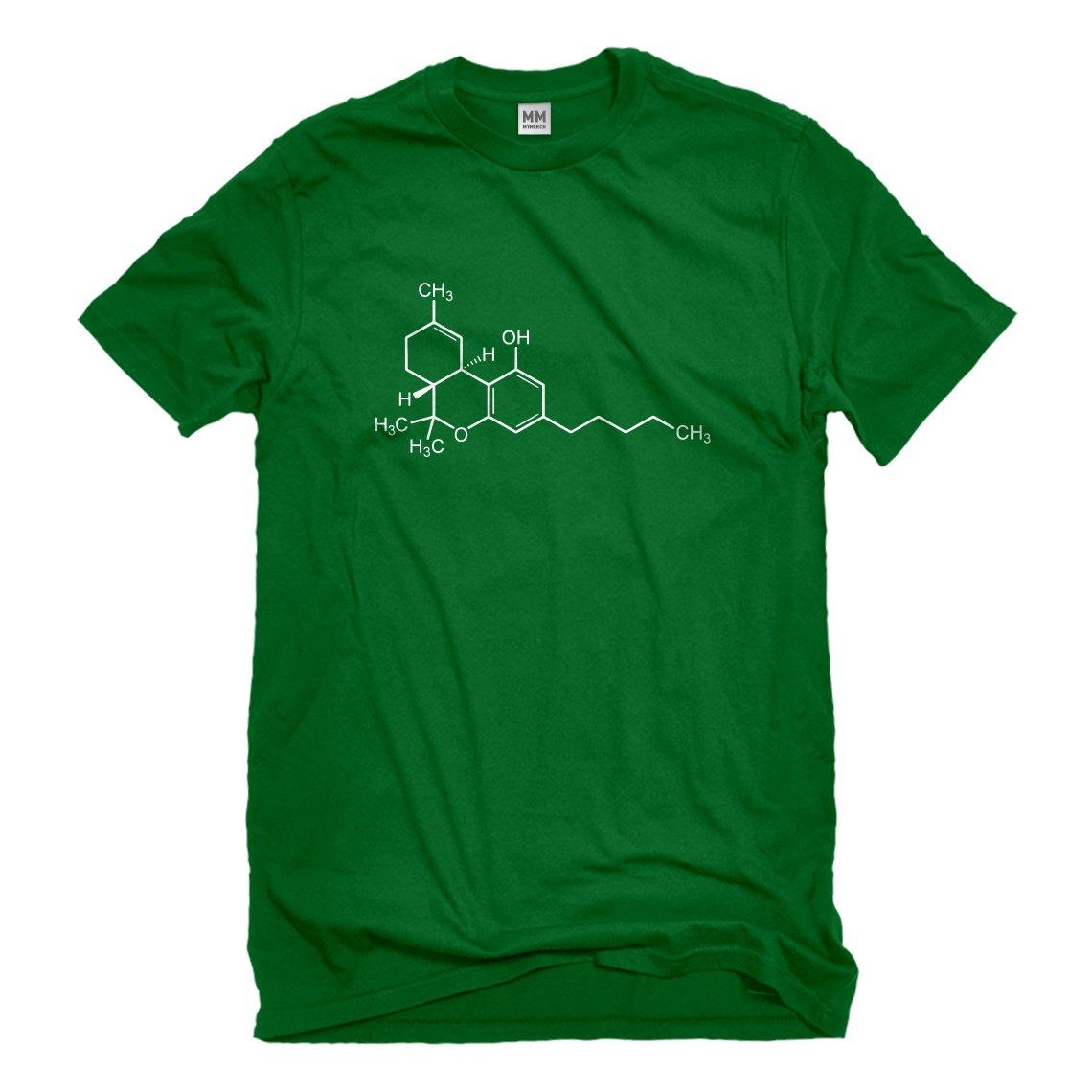 Indica Plateau THC Molecule Mens T-Shirt 3026-M