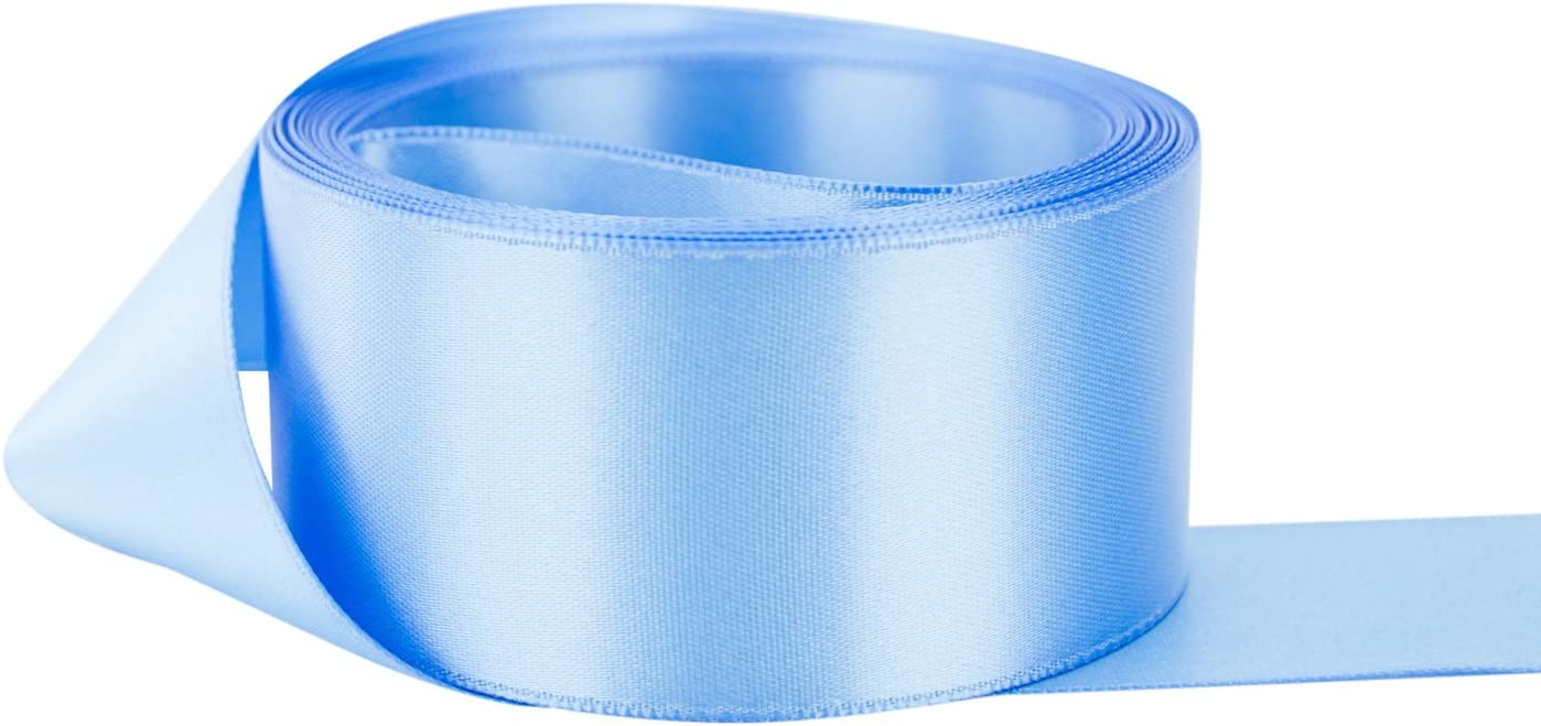 Light Peach Double Sided Satin Ribbon-Made in France 7 Widths to choose from